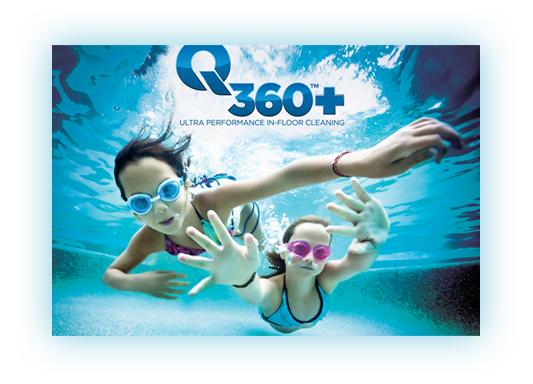 Waterco Q360 Infloor Pool Cleaning