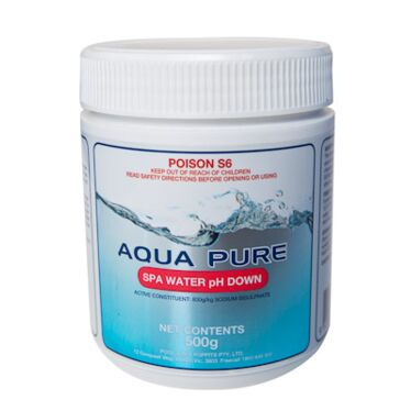 Aqua Pure Spa Water pH Down