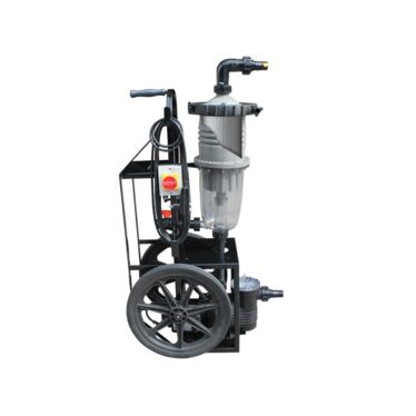 Multicyclone Ultra Vac Portable Filtration Cart
