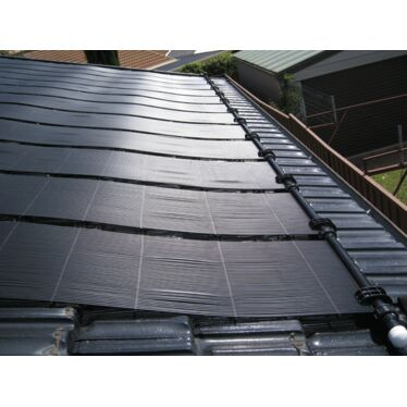 Zane Solar pool heating